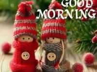 Cute winter seasons good morning picture