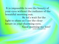 romantic good morning messages