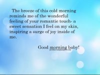 Cute Romantic Good Morning Messages