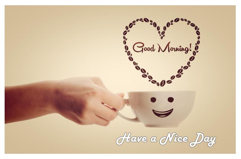 Cute Good Morning girl friend heart image