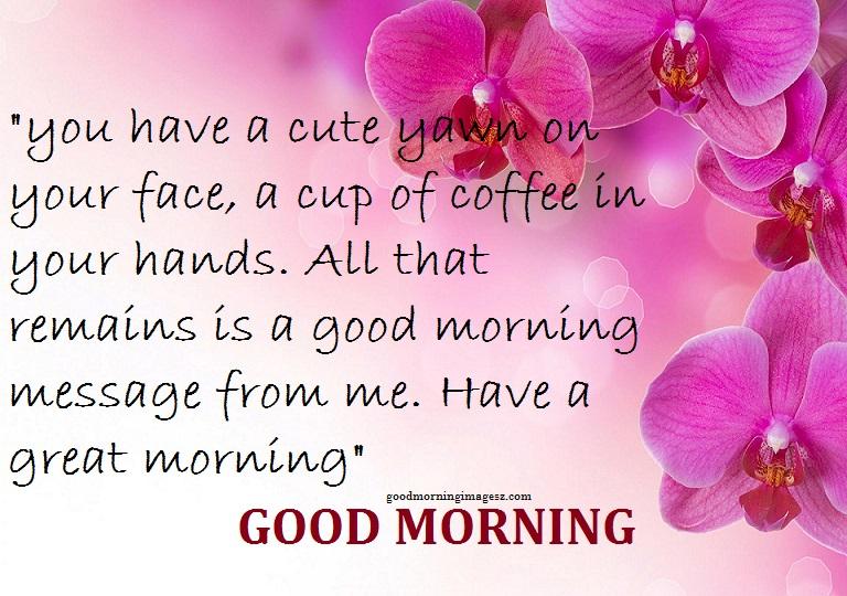 Cute good morning text messages photos good morning images cute good morning text messages photos m4hsunfo