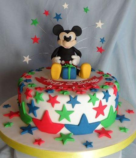 Birthday cake image for mobile