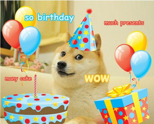 Doge happy birthday meme free download