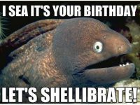 Funny fish Happy birthday images