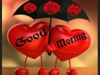 good morning love hart image