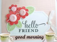 hello friend good morning images
