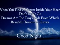 Good night poem wallpapers
