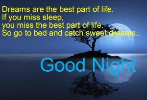 Good night shayari card