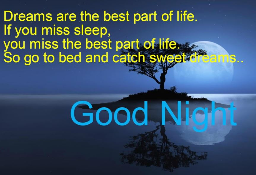 Good night shayari card