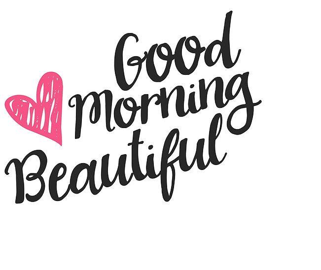Beautiful good morning image