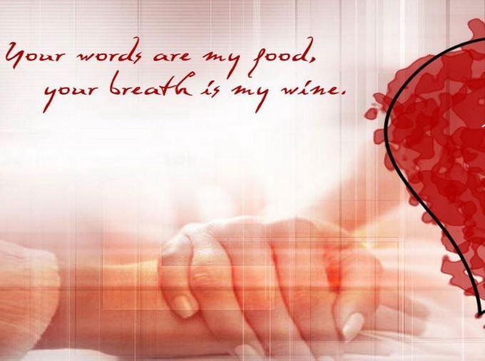 Beautiful saying image for girlfriend