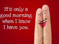 Beautiful Good Morning Text for Him