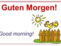 How to say Good Morning in German