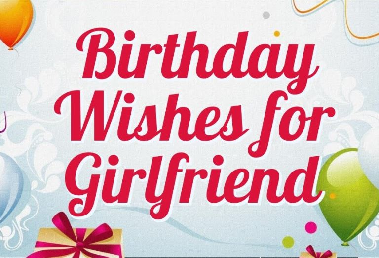 Birthday letter for girlfriend | Good Morning Images