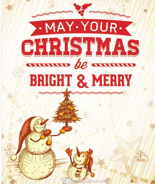Cute Merry Christmas Quotes And Sayings
