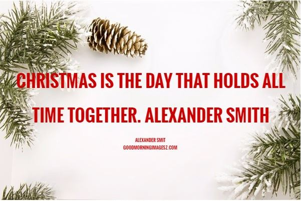 Christmas quotes card