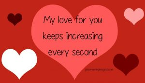 Romantic text messages for her