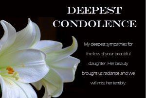 short condolence messages