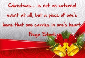 xmas love quotes card