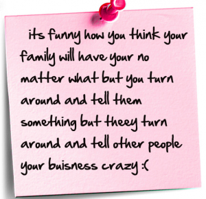 Quotes About Fake Family