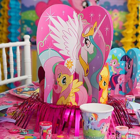 My Little Pony Birthday Theme Ideas Items Decoration Party Pictures